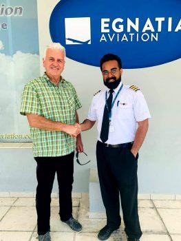 Professional Pilot Training Completion